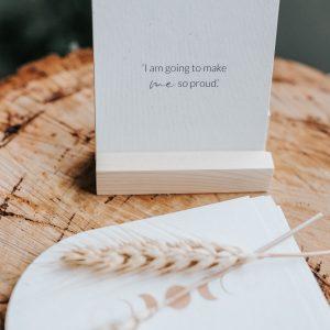 Journals + Affirmation Cards